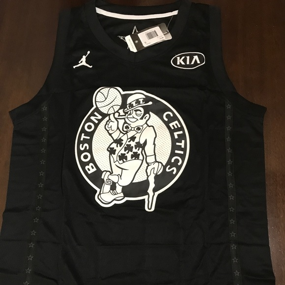 wholesale dealer c0f0f d897b New Kyrie Irving All-Star Black Jersey Celtics NWT